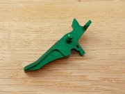 Retro ARMS CNC Custom Straight Trigger - Green (Type J)