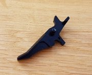 Retro ARMS CNC Custom Straight Trigger - Black (Type J)