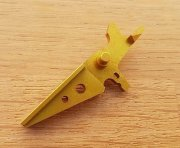 Retro ARMS CNC Custom Straight Trigger - Gold (Type A)