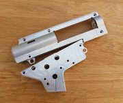 Retro ARMS Split T6 CNC QSC V2 Gearbox Shell 8mm