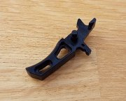 Retro ARMS CNC Custom Straight Trigger - Black (Type I)