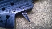 Retro ARMS CNC Custom Straight Trigger - Black (Type A)