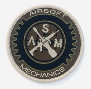 Airsoft Mechanics Patch